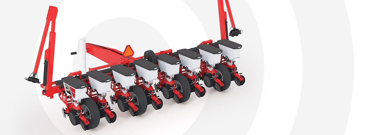 White Planters 9100 Series Rigid-Frame Planter